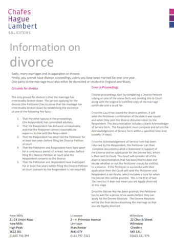 Divorce cover